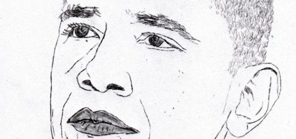 Portrait du président Barack Obama