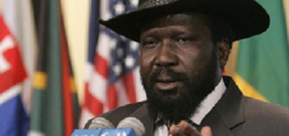 Salva Kiir, presidente de Sudán del Sur. Wikipedia