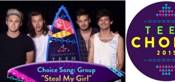 Teen Choice Awards: One Direction ganhou 8 prêmios