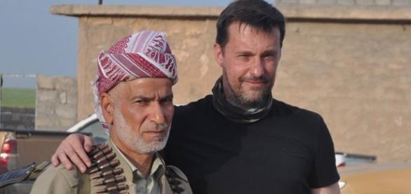 Witold Gadowski - iracki Kurdystan, z arch. WG