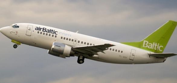 En el avión airBaltic había más de 100 pasajeros.