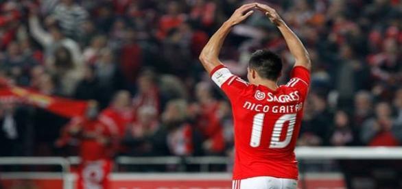 Jogador chegou ao Benfica em 2010