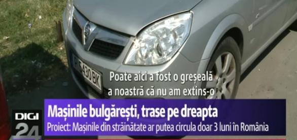 """Stop mașinilor """"bulgărești""""..."""