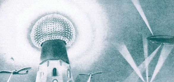 Antena de energía inalámbrica de Nikola Tesla
