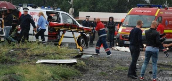 Grav accident la 5 km de Brăila