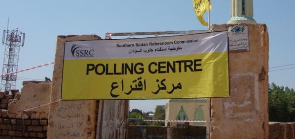 Lokal wyborczy w Sudanie Południowym