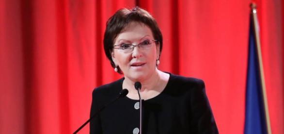 Premier Ewa Kopacz (fot.: Facebook - Ewa Kopacz).