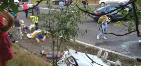 Cinci persoane și-au pierdut viața pe DN 39