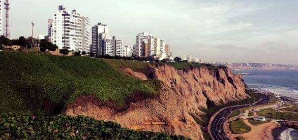Fotografía de la ciudad de Lima, Perú .