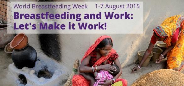 World Breastfeeding Week: 1 - 7 August 2015