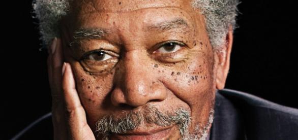 Actor Morgan Freeman ganador de un Oscar.