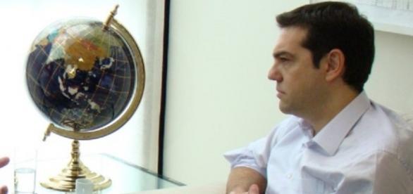 Alexis Tsipras premier greco dimesso.