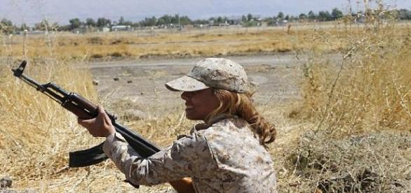Fetele Soarelui lupată împotriva teroriștilor