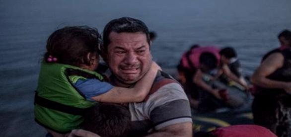 Imigrantul sirian. Foto: Nathan Rupert/Flickr