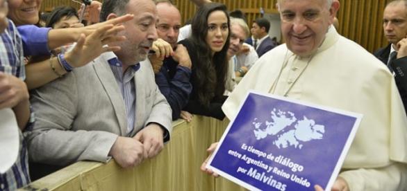 El Sumo Pontifice sostiene la idea del diálogo