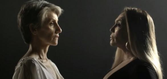 Susana Vieira e Cássia Kiss em A Regra do Jogo