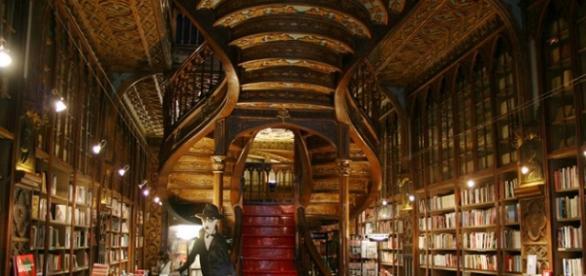 A livraria recebe centenas de visitantes