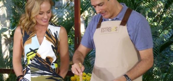 Bonner participa do programa Estrelas com Angélica