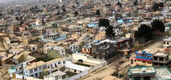 Cabul, capital do Afeganistão, foco dos atentados.