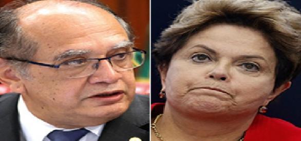 Gilmar Mendes manda investigar as contas de Dilma