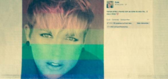 Record diz que Xuxa apóia casamento gay