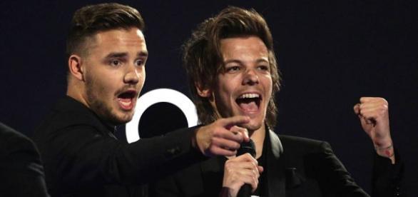 Liam e Louis protagonizaram um momento peculiar.