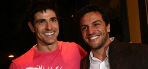 Lombardi e Gianecchini fazem sucesso na web