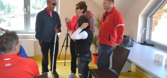 Osoby niedowidzące, spotkania rehabilitacyjne