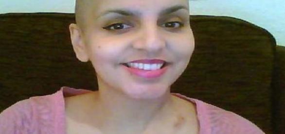 Tânăra mamă diagnosticată de cancer