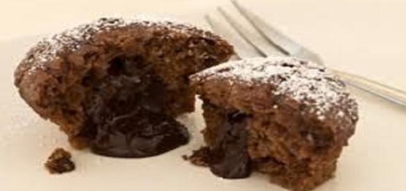 Deliziosi muffins senza glutine con ripieno
