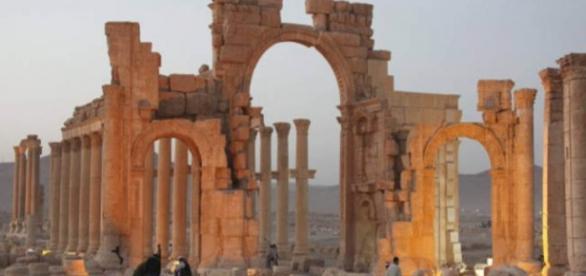 El templo Baal era un estandarte de Palmira, Siria