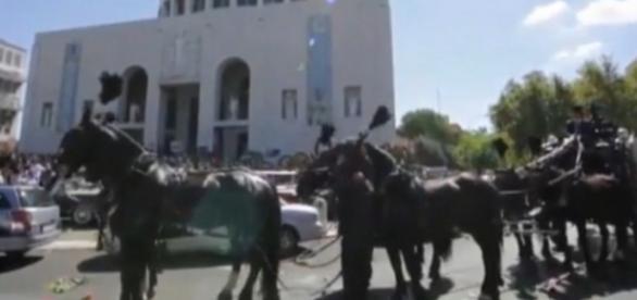 I funerali del boss Vittorio Casamonica