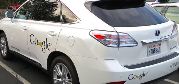 Lexus adaptado por Google para autos sin conductor