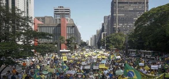 Manifestação pelo Impeachment - 2015.