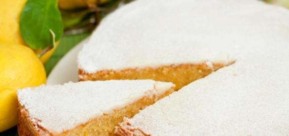 torta caprese al gusto di limone