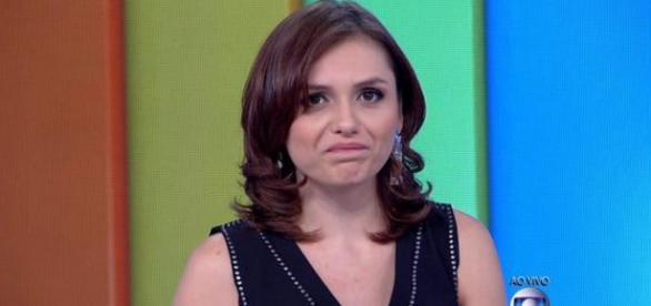 Monica Iozzi falha e diz que está no 'CQC'