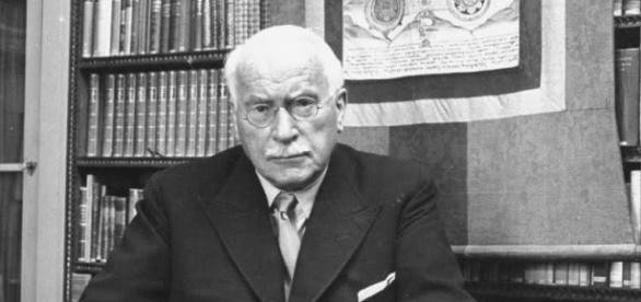 El psiquiatra suizo Carl G. Jung