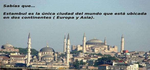 Estambul es la unica ciudad en dos continentes