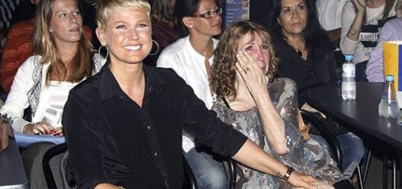 Xuxa desabafa sobre saúde da mãe