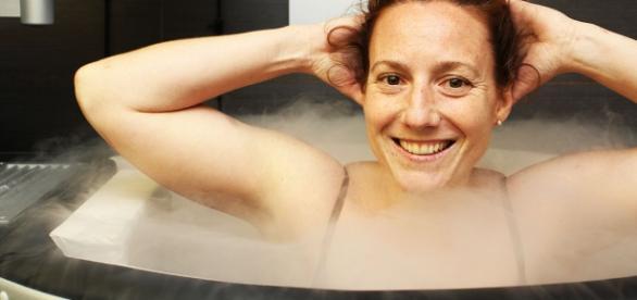 Banho de nitrogênio para emagrecer