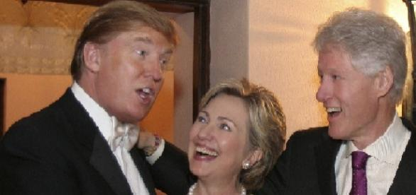 Donald Trump & Hillary Clinton.