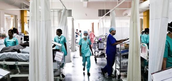 Hospitais com poucos recursos para tantos doentes