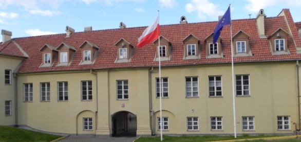 Ambasada Polski w Wilnie. Fot.K.Krzak