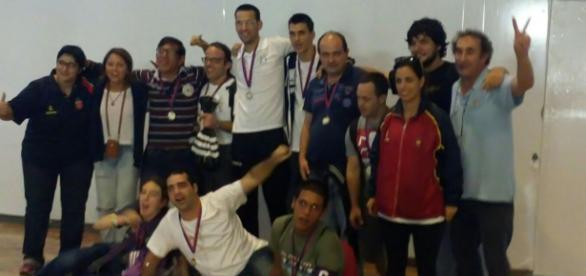 Ayer llegaron los Campeones al aeropuerto del Prat