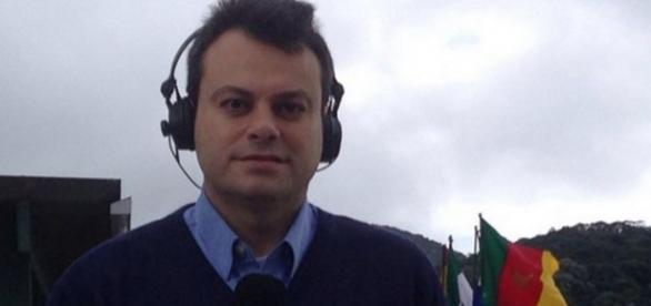 Repórter da Globo se irrita e xinga torcedor