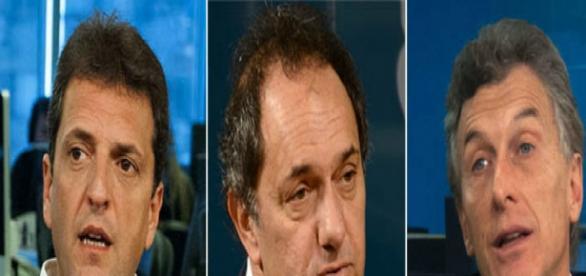 Scioli,Macri y Massa en The Council of América