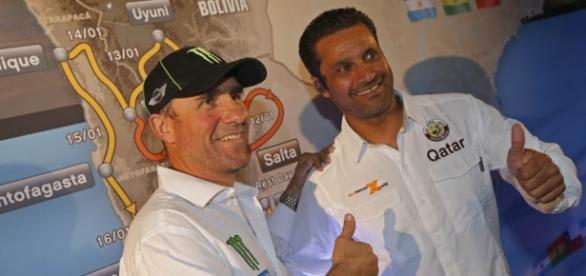 Al Attiyah y Peterhansel vencedores del Dakar