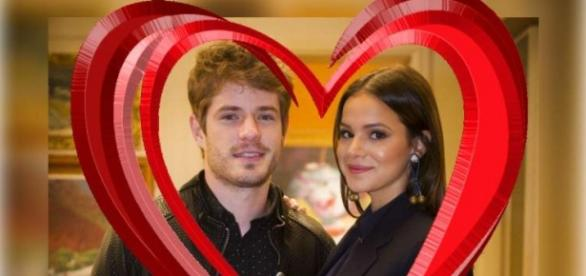Maurício e Bruna Marquezine em I Love Paraisópolis