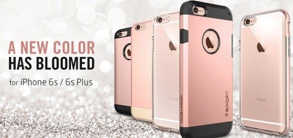 Novas Cores para iPhones 6s e Plus