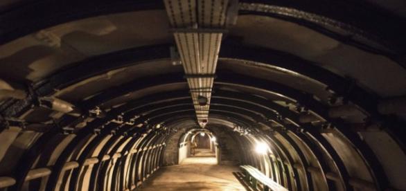 Tunel de la poblacion polaca Walbrzych